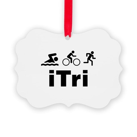 iTri Picture Ornament
