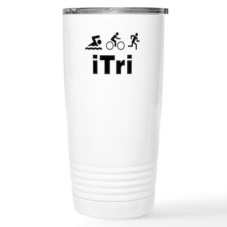 iTri Stainless Steel Travel Mug