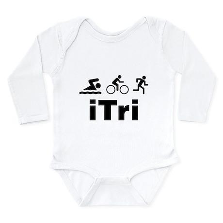 iTri Long Sleeve Infant Bodysuit