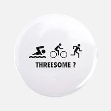 """Threesome ? 3.5"""" Button"""
