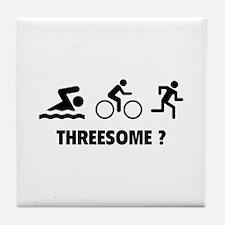 Threesome ? Tile Coaster