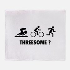 Threesome ? Throw Blanket