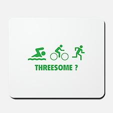 Threesome ? Mousepad