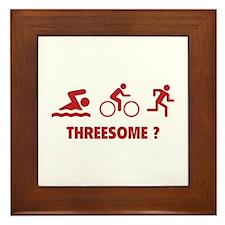 Threesome ? Framed Tile