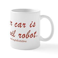 Giant evil robot Mug