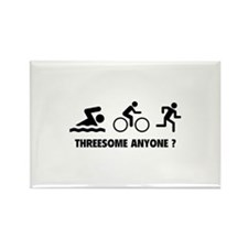 Threesome Anyone ? Rectangle Magnet