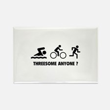 Threesome Anyone ? Rectangle Magnet (10 pack)