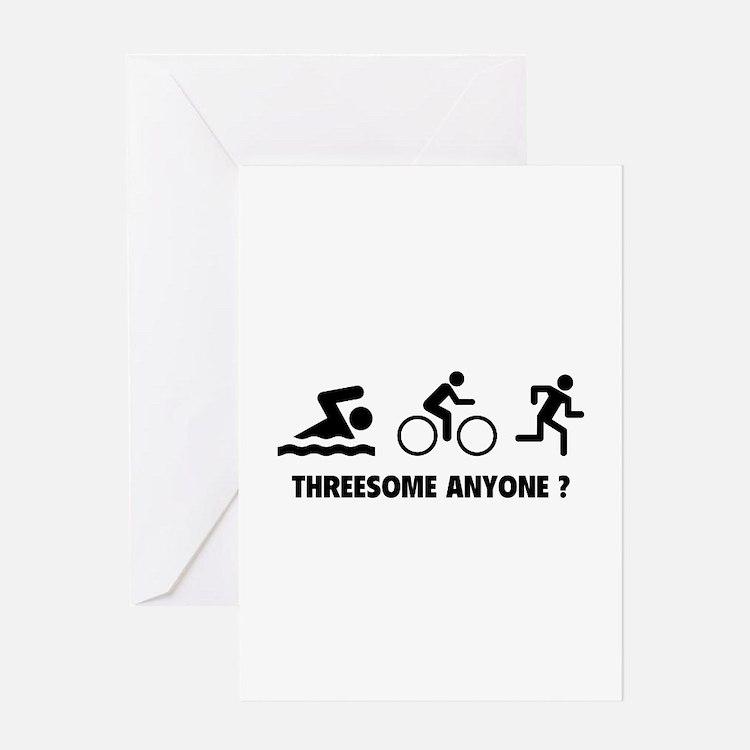 Threesome Anyone ? Greeting Card