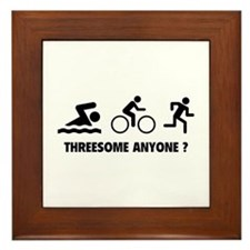 Threesome Anyone ? Framed Tile