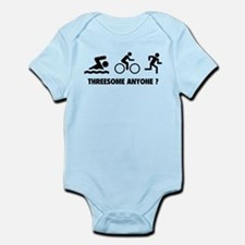 Threesome Anyone ? Infant Bodysuit