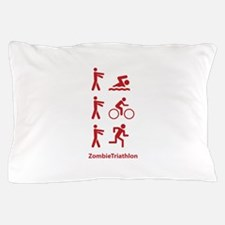ZombieTriathlon Pillow Case