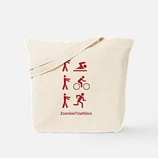 ZombieTriathlon Tote Bag