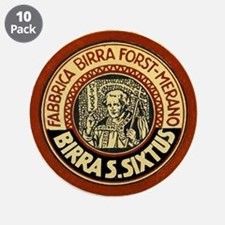 """Italy Beer Label 1 3.5"""" Button (10 pack)"""
