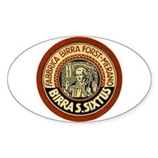 Italy Beer Label 1 Decal