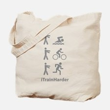 iTrainHarder Tote Bag