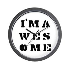 I'm Awesome -  Wall Clock