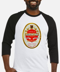 Mozambique Beer Label 1 Baseball Jersey