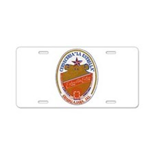 Mexico Beer Label 6 Aluminum License Plate