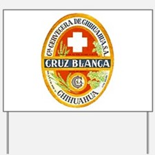 Mexico Beer Label 4 Yard Sign