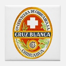Mexico Beer Label 4 Tile Coaster