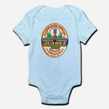 Mexico Beer Label 2 Infant Bodysuit