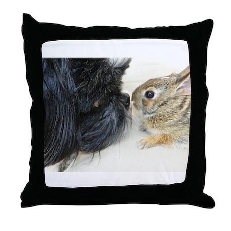 Love & Curiosity Throw Pillow