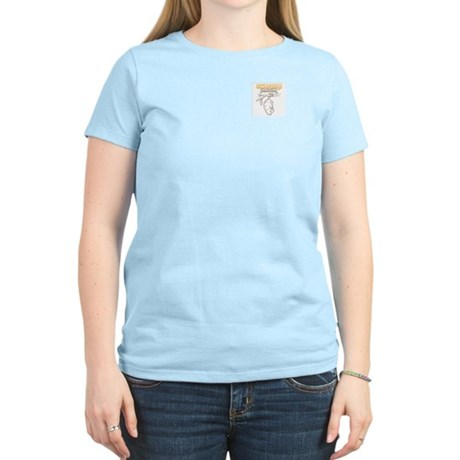Awesome Possum - Women's Pink T-Shirt