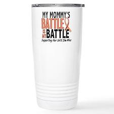 My Battle Too Uterine Cancer Travel Mug