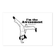I'm the Awesomest -  Postcards (Package of 8)