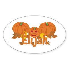 Halloween Pumpkin Elijah Decal