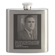 The Final Sin is Stupidity Flask