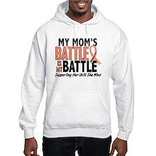 My Battle Too Uterine Cancer Hoodie