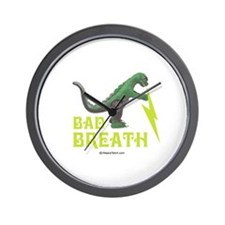 Bad breath -  Wall Clock