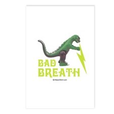 Bad breath -  Postcards (Package of 8)
