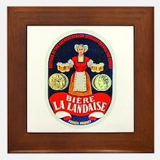 Ivory Coast Beer Label 1 Framed Tile