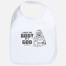 I have the body of a god -  Bib