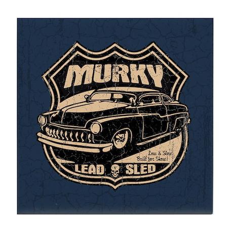 Murky Tile Coaster