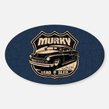 Murky Sticker (Oval)