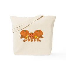 Halloween Pumpkin Dustin Tote Bag