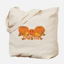 Halloween Pumpkin Dustin Tote Bag