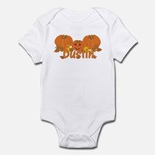Halloween Pumpkin Dustin Infant Bodysuit