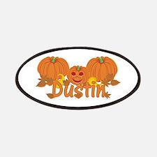 Halloween Pumpkin Dustin Patches