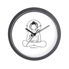 Buddha's ipod -  Wall Clock