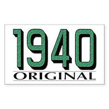 1940 Original Rectangle Decal