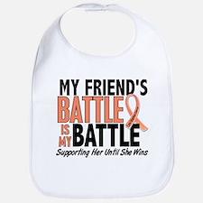 My Battle Too Uterine Cancer Bib