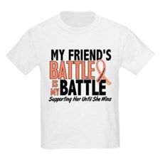My Battle Too Uterine Cancer T-Shirt