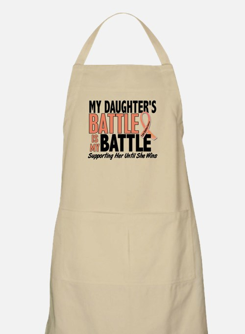 My Battle Too Uterine Cancer Apron