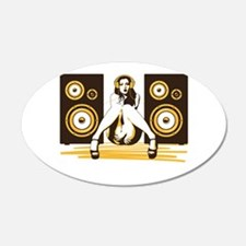 Music Please Wall Decal