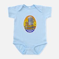 Germany Beer Label 11 Infant Bodysuit