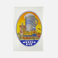 Germany Beer Label 11 Rectangle Magnet